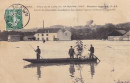 Nièvre - Nevers - Crue De La Loire Du 19 Octobre 1907 - Hauteur Maxime, 5 M.37 - Nevers