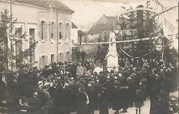 INAUGURATION Du Monument Aux Morts - Foto