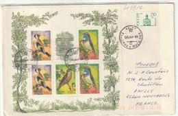 Russie. Russia. Assereaux. Mini-sheet. Feuillet - Sperlingsvögel & Singvögel