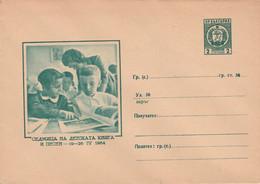 Roemenië 1964, Entier Postal, Leesles - Buste