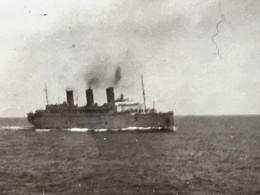 ✔️ILE-DE-FRANCE--PAQUEBOT FRANÇAIS EN MER -☛ OCÉAN INDIEN-Aout 1946 Photo Originale Photographie :Bateau-Navire - Boats