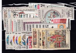 (Kk 6859) Tschechoslowakei, Kpl. Jahrgang 1970, Gest. - Annate Complete