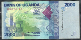 Uganda - 2000 Shillings 2015 - Pick  50c - Ouganda