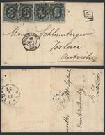 Belgique 1872 - TP 30 Sur Lettre Bruxelles Vers Vöslau Autriche - 1869-1883 Leopold II.