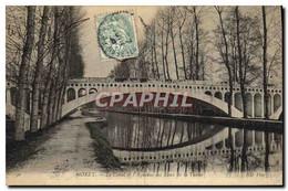 CPA Moret Le Canal Et L&#39Aqueduc Des Eaux De La Vanne - Moret Sur Loing