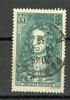 """FRANCE - LA FONTAINE - N° Yvert 397 Obli. Ronde De """"PARIS De 1938"""" - Used Stamps"""