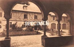 Abbaye N.D. D'Orval - Cour D'entrée Vue Du Porche De La Maison Des Retraitants @ Forenville Villers-devant-Orval - Florenville