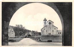 Abbaye N.D. D'Orval - Cour D'Honneur Et Façade De La Basilique @ Forenville Villers-devant-Orval - Florenville