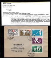 Luzern-Schweiz, Komponierte Lieder Von Karl Theo Wagner Sänger & Komponist-Liedgut Versendet Auf Postkarten. - Musica Popolare
