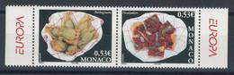 Monaco N°2491 Et 2492** Europa - La Gastronomie - Neufs