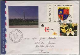 Nouvelle Calédonie - Hienghene - Lettre Pour La France - 2 Août 1996 - Usados