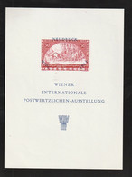 "Oesterreich - 1965 - Vignettenblock ""WIPA"" (*) (E892) - Blocks & Sheetlets & Panes"