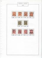 HOUYOUX Voorafgestempeld WAREMME 30 BORGWORM Op Nrs. 190 , 191 En 192 KOMPLEET  ! LOT 364 - Other