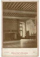 PHOTO ANCIENNE 1900  Chateau Impérial De PIERREFONDS....pHOTOgraphe Mieusement Blois - Unclassified