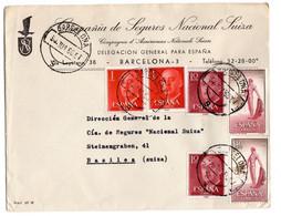 ESPANA Franco + Matador 1960 Barcelona - 1951-60 Briefe U. Dokumente