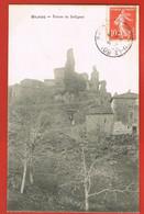 GILHOC- Ardèche- CPA -Ruines De Solignac - Circulée 1909 - Sonstige Gemeinden