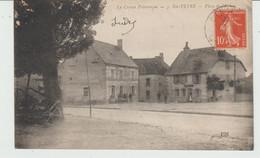 CPA SAINTE-FEYRE (23) PLACE DE L'EGLISE - ANIMEE - Sonstige Gemeinden