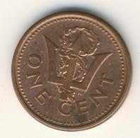 BARBADOS 2000: 1 Cent, KM 10a - Barbados