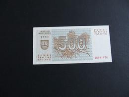 500 Talonu 1993 Litouwen - Lithuania - Lithuania