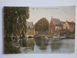 Bruges. Le Lac D'Amour Et La Maison Eclusière - Brugge