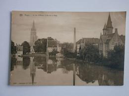 Bruges. Le Lac D'Amour (Côté De La Ville) - Brugge