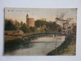 Bruges. Le Lac D'Amour- La Passerelle - Brugge