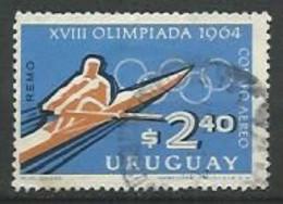 URUGUAY 1965 AEREO  / N° 274 -   Oblitéré N° Yvert & Tellier - Uruguay