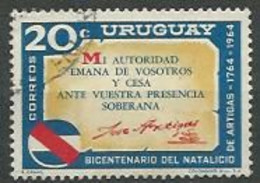 URUGUAY 1965  / N° 730 -   Oblitéré N° Yvert & Tellier - Uruguay