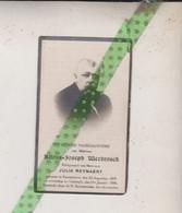 Alfons Joseph Werbrouck-Reynaert, Rousselaere 1878, Oostende 1936 Foto - Overlijden