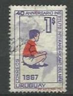URUGUAY 1967  / N° 760 -   Oblitéré N° Yvert & Tellier - Uruguay