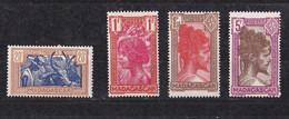 ⭐  Madagascar N° 279 à 283**⭐ Sans Le 280 - Unused Stamps
