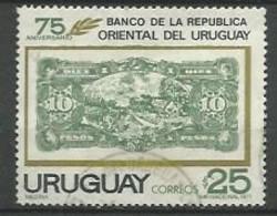 URUGUAY 1971  / N° 815  -   Oblitéré N° Yvert & Tellier - Uruguay