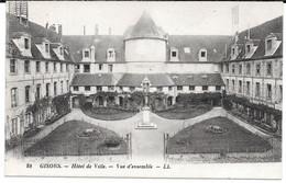 Cpa Gisors - Hôtel De Ville / Vue D'ensemble . - Gisors