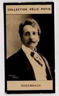 Collection Felix Potin - 1898 - REAL PHOTO - Georges Rodenbach, Poète Symboliste Et Un Romancier Belge - Félix Potin