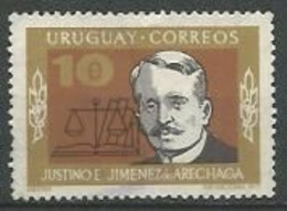 URUGUAY 1973  / N° 858 -   Oblitéré N° Yvert & Tellier - Uruguay