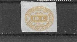 Italien - Selt./ungebr. PM Aus 1863 - Michel 1! - Portomarken