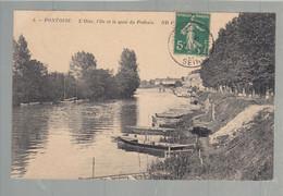 CP - 95 - Pontoise - L'Oise - L'Ile - Quai Du Pothuis - Pontoise