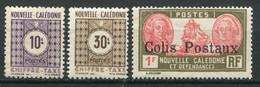 20770 NOUVELLE CALEDONIE Taxe  N°39/40 */**, Colis Postaux N°5 *  1930-48 B/TB - Postage Due