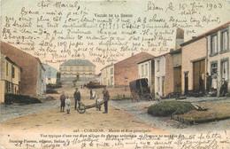 Belgique - Bouillon - Vallée De La Semois - Corbion - Mairie Et Rue Principale - Bouillon