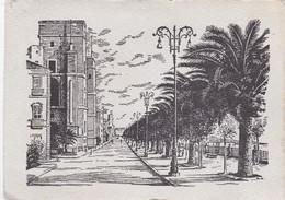 TARANTO - CARTOLINA - LUNGOMARE - VIAGGIATA PER BERGAMO - Taranto