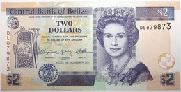 Belize - 2 Dollars - 2011 - PICK 66d - NEUF - Belize