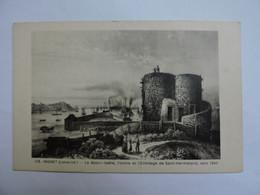 INDRET - La BASSE-INDRE - L'Usine Et L'Ermitage De Saint-Hermeland, Vers 1840   A1791 - Altri Comuni