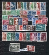 1947 Compl.- MNH Yv.Nr-512/569 +P.A.50/51 (538- Sans) Bulgarie / Bulgaria - Komplette Jahrgänge