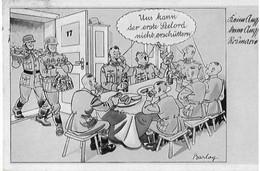 Deutsche Propagandapostkarte Aus Dem Zweiten Weltkrieg - Unclassified