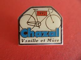 Pins Sport Cyclisme Velo 1992 - équipe CHAZAL - Vanille Et Mure - Tour De France - - Cyclisme