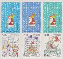 Vaticano - 1987 - San Nicola Da Myra A Bari  S.cpl 3v  (rif. 825/27 Rif. Cat. Unificato) - Nuevos