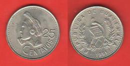 Guatemala 25 Centavos 1991 Sud America - Guatemala