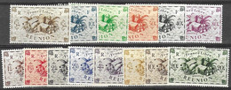 1943 Reunion Neuf Trace De Charniere * 9,50 Euros Complete Set - Unused Stamps