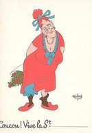Illustrateur Albert DUBOUT - COUCOU - Dubout