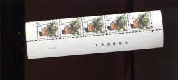 Belgie 2397 PRE825 Buzin Vogels Birds 4.50Fr PREO 2397 Bande Datée Datumstrook Onpaar 8/5/1991 RRR S2  Velnr 52185 - 1985-.. Pájaros (Buzin)